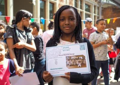 TADA fête son 5e anniversaire – remise des diplômes 2018