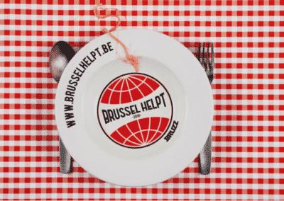 Brussel Helpt: Bruxelles, capitale du spaghetti pour un jour