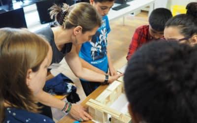 """Donatienne de Spirlet: """"Het is belangrijk om bruggen te bouwen tussen jongeren en de professionele wereld"""""""