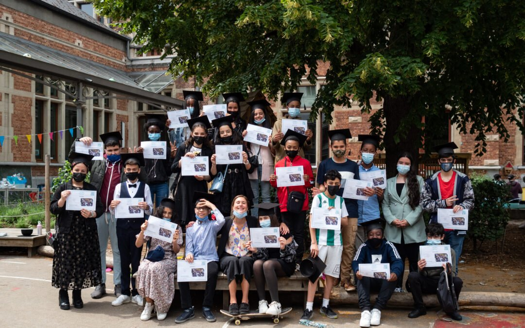Remise des diplômes 2021: petit comité, grands sourires